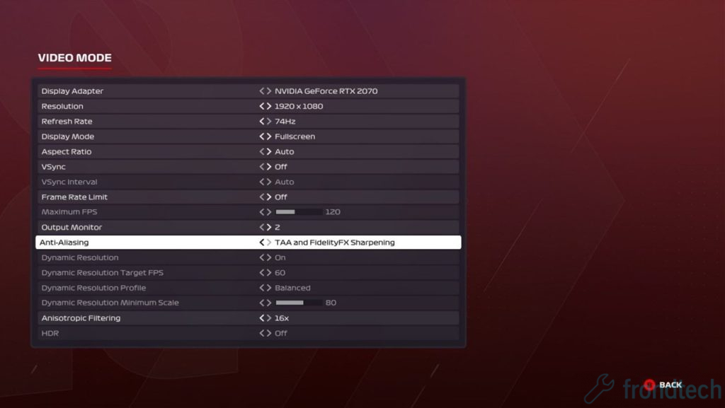 F1 2020 Anti-aliasing