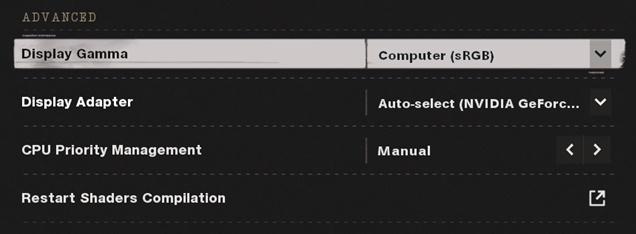 Cod black ops cold war graphics settings - advanced